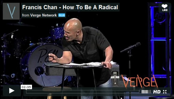 How to be radical video
